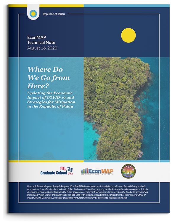 Related Document thumbnail of Where Do We Go from Here? Updating the Economic Impact of COVID-19 and Strategies for Mitigation in the Republic of Palau