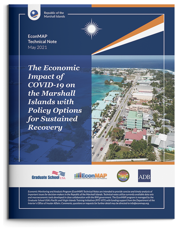 Related Document thumbnail of The Economic Impact of COVID-19 on the Marshall Islands with Policy Options for Sustained Recovery