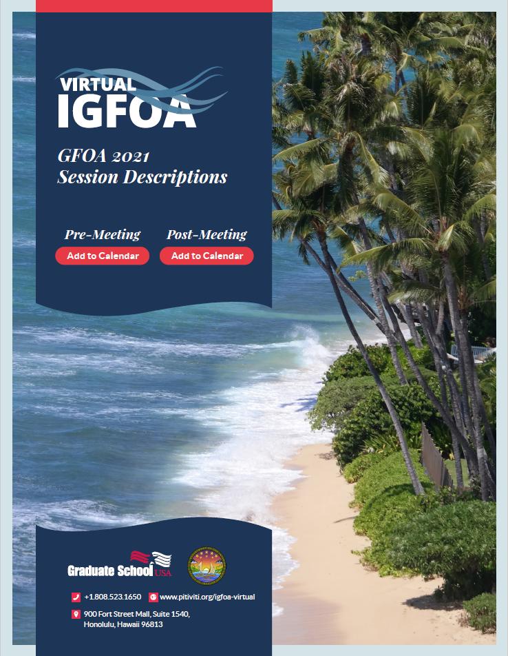 Related Document thumbnail of IGFOA 2021 Presentation Template