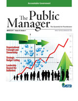 Public Manager Cover